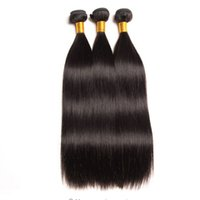 işlenmemiş bakire saç satılık toptan satış-Toptan Sınıf 10a Brezilyalı Bakire Saç Uzatma Düz İnsan Saç 100% Işlenmemiş 3 Demetleri saç örgü Ücretsiz Nakliye Sıcak Satış