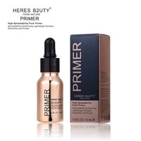 Wholesale smooth line - HERES B2UTY Blurring illuminating Fluid Gel Primer even skintone blurs pores fine lines Long-lasting smoothed Brighten Highlight 15ML