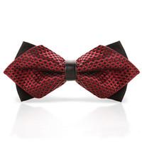 Wholesale cravat bow tie women - LNRRABC 20Colors Print Fashion Women Men Popular Butterfly Cravat Bow Ties Tuxedo Banquet For Wedding Groom