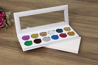Wholesale Matte Sequins - New glitter Eyes Pressed12 color sequin eye shadow Multi-style eyeshadow Beauty make-up series