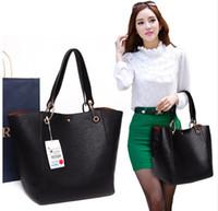 Wholesale big messenger bags - Women messenger bags pu leather luxury handbags women bags designer vintage big size tote shoulder bag high quality