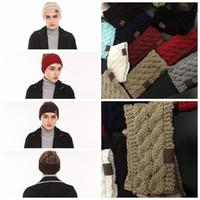 Wholesale Winter Ear Warmer Headband - CC Crochet Headband 10 Colors Wool Crochet Headband Knit Hair band Winter Warm headbands Girls Headwrap Ear Muffs 1000pcs YYA1131