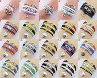 zubehör armbänder großhandel-Modeschmuck Accessoires Vintage handgemachte Hand-stricken LOVE8 Worte glauben Traum mehrschichtige kombinierte Armband Weben Armband V 002