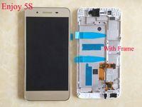 etiqueta de pantalla lcd al por mayor-Para Huawei Enjoy 5S GR3 TAG-L21 TAG-L01 TAG-L03 TAG-L13 TAG-L22 TAG-L23 Pantalla LCD con reemplazo de digitalizador de pantalla táctil