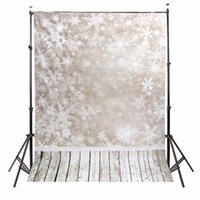 Wholesale scenery backgrounds for sale - 5x7ft Vinyl Photography Background Snow Scenery Christmas photographic Backdrop for Studio Photo Prop cloth x2 m waterproof