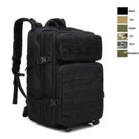 Wholesale combat backpacks resale online - Oudoor Sports Waterproof Tactical Pack Bag Rucksack Knapsack Assault Combat Camouflage Tactical Camo L Backpack NO11