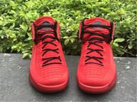 Wholesale Martial Arts Universities - 2017 New Retro 32 Flights Speed Men's Basketball Shoes Airs XXXII 32s UNIVERSITY RED BLACK UNIVERSITE ROUGE NOIR Sports Sneakers