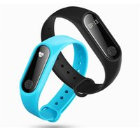 Wholesale m2 smart bracelet online – M2 Fitness tracker Watch Band Heart Rate Monitor Waterproof Activity Tracker Smart Bracelet Pedometer Call remind Health Wristband new item