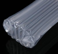 Wholesale pe pumps resale online - PE Air Dunnage Bag Air Filled Protective Wine bottle Wrap Inflatable Air Cushion Column Wrap Bags with a free pump