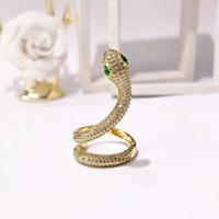 шипы оптовых-Мода Марка кольцо диапазона Punk Silver Rose Gold из нержавеющей стали Зеленый Янтарный Spike кольца ювелирные изделия для мужчин женщин