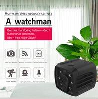 bebek kaydedici toptan satış-HD Wifi Mini Kamera DVR H7 Kablosuz 1080 P Kızılötesi Gece Görüş spor Kamera Taşınabilir bebek kamera ev Güvenlik Video Kaydedici Uzaktan Görünümü