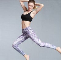 Wholesale Dance Body Wear - 2017 new comfort print Fitness Wear yoga pants outdoor gym pants dance yoga tights fitness thin body