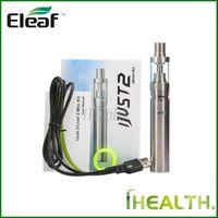 Wholesale mini ijust kit resale online - iSmoka Eleaf iJust Kit Newly iJust2 Mini Kit mah mah iJust2 battery ml ml iJust2 Atomizer Original