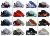 Wholesale usa patents - New Zoom KD 10 Anniversary University Red Still Kd Igloo BETRUE Oreo Men Basketball Shoes USA Kevin Durant Elite KD10 Sport Sneakers KDX
