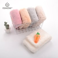 Wholesale Faux Fur Cashmere Scarf - 2017 Cute Carrot Scarves For Girls Imitation Cashmere Faux Fur Winter Warm Scarf For Children Christmas Gifts Bufanda