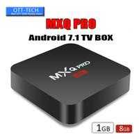 Wholesale mx2 tv box resale online - Factory Sale OEM MX2 MXQ PRO K RK3229 Quad Core Android TV BOX With Customized K Media Player