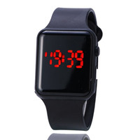 Wholesale square watch silicone led - Personalized fashion Korean LED watch children's fashion silicone watch sales wholesale free shipping