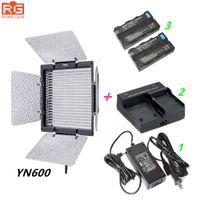 Wholesale led lights video yongnuo for sale - Group buy YN600 Yongnuo YN k LED Video Light AC Adapter NP F550 Charger