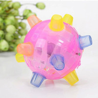 Wholesale electric toys for sale - Children Large Size Electric Glowing Intelligence Toy Funny Crazy Music Dance Ball Vision Learning Education Toys yh W