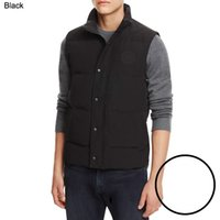 Wholesale Men Vests Cotton Outdoor - 2018 Hot New Brand Canadian geese warm cold cold windproof waterproof men outdoor serene feather sports down vest