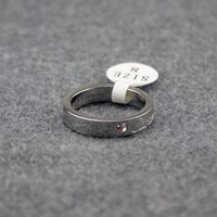 Wholesale 18k wedding yellow diamond ring - 2018 France Logo Women Diamond Wedding Ring Luxury Brand Design Ring Rose Golden Party Rings Valentine's Day Gift Jewelry