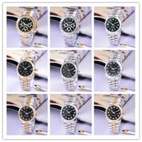 Wholesale mechanical digital clock - High quality stainless steel mechanical watches black day Luxury designer men watch box Automatic calendar chronograph diamond clock