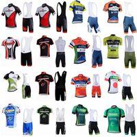 Wholesale merida green cycling jersey - FANTINI MERIDA team Cycling Short Sleeves jersey (bib) shorts sets Hot Sale Cycling Jerseys Set Wear Size XXS-5XL D1338