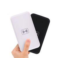 ingrosso qi wireless potenza universale-MC-02A Qi standard universale wireless caricabatterie pad banca di potere portatile trasmettitore accessorio per Samsung S6 S7 Edge Iphone8 Note8 300 pz