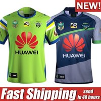 Wholesale Raiders Shirt L - 2018 NRL JERSEYS CANBERRA RAIDER S Rugby 18 19 Oakland canberra raider home away rugby league jersey football shirts size S-XXXL