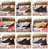 Wholesale b bones - High Quality New Arrival Air Cushion 270 Men Running Shoes Dusty Cactus White Black Red Light Bone Sneakers AH8050