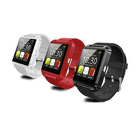 Wholesale mtk watch phone online – MTK Chip Watches Wristband Android Bluetooth Smart Watch A mah mah Intelligent Mobile Phone u8 Smart Watches