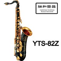 Wholesale Pad Saxophone - Wholesale-New CG Japan Professional Custom Z Tenor Saxophone YTS-82Z Black Lacquer With Case Mouthpiece Patches Pads Reeds Bend Neck