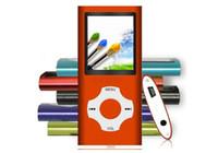 mp3 mp4 video media player großhandel-1,8-Zoll-LCD-Bildschirm MP3-MP4-Multi-Media-Video-Player Musik FM-Radio 4. Generation mit TF-SD-Kartensteckplatz für 4G 8G 16 GB TF-Karte