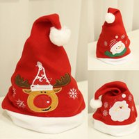 Apparel Accessories New Fashion 2018 Lovely Christmas Hat Led Caps Santa Claus Snowflake Soft Warm Knitted Cap Kids Xmas Gift Good Reputation Over The World Men's Hats