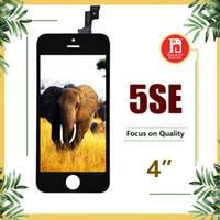 ingrosso sostituzione a schermo pieno iphone 5s-Per iPhone 5SE SE compatibile per iPhone 5S Display LCD Touch Screen Digitizer sostituzione sostituzione completa