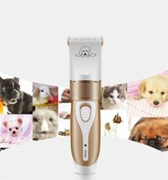 Wholesale electric hair cutters for sale - Grooming Trimming Kit Shaver Pet Supplies Portable Removable Shavers Anti Wear Electric Dog Hair Clipper Cutter Professional cg jj