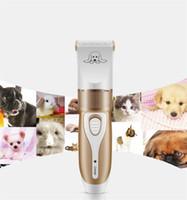 evcil hayvanları için saç kesme makinası toptan satış-Tımar Kırpma Kiti Tıraş Pet Malzemeleri Taşınabilir Çıkarılabilir Traş Makineleri Anti Aşınma Elektrikli Köpek Saç Kesme Kesici Profesyonel 38cg jj