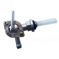 motores de válvulas al por mayor-Off-road Motorcycle ATV Modificado Interruptor de tanque de combustible a través del interruptor de aceite de aluminio Interruptor de válvula de combustible Interruptor de filtro Generador de motor