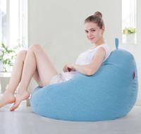ingrosso bagni di fagioli soggiorno-moderno divano beanbag soggiorno e mobili da esterno divani poltrona sacco per giardino moda per il tempo libero polistirolo di tela divani beanbag