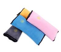 ingrosso cuscino della cintura-Baby Children Car Cintura di sicurezza auto Cintura morbida Imbracatura Coprispalle Coperture di protezione per bambini Cuscino Cuscino Cuscino Sedile Cuscini