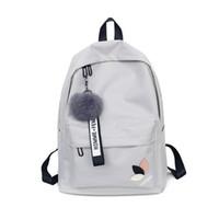 kinder neue reißverschluss tasche großhandel-2018 New Bookbags Mädchen Schultasche Kid Rucksack Frauen Damen Kleine Zipper Rucksäcke Schultaschen für Jugendliche Mädchen Große Kapazität
