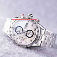 Wholesale luxury black calibre 16 - 5 Color Luxury Best Edition Watch HBB V6 Factory 43mm Calibre 16 CV2A10 Chronograph Working Swiss ETA 7750 Movement Automatic Mens Watches