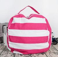 peluş oyuncaklar için giysiler toptan satış-Temizlik 5 stilleri 24 inç sıcak Depolama Fasulye Torbaları Peluş Oyuncaklar Beanbag Sandalye Yatak Dolması Hayvan Odası Paspaslar Taşınabilir Giysi Saklama Çantası
