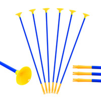 Wholesale garden shoots - 23 Inch Youth Sucker Arrows Safe Shooting Hunting Replacement Suction Cup Arrow for Children Huntingdoor Outdoor Garden Fun Game Toy Gift