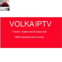 Wholesale arabic iptv subscription - IPTV Volka subscription arabic French Belgium Morroc Tusia Africa iptv code year channels movies