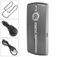 автомобиль сотового телефона bluetooth оптовых-Связь Bluetooth 3.0+EDR и USB многоточечной автомобильный комплект громкой связи для сотового телефона громкой связи CEC_126