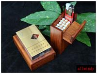 Kleine Palisander Box Red Wood Box Für Zigarettenspitze Business Name Karten Holztasche Fall Lagerung 1 Stück 10 5 6 5 3 Cm