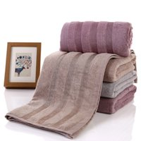 Wholesale 70 cm Solid Hotel Bath Towel Beach Towels Soft Comfortable Absorbent Swimming Spa Towel For Adults Large Size