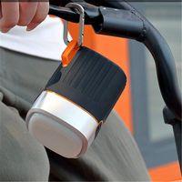 Wholesale bike mini sports speaker resale online - Outdoor Sports Portable Bluetooth Speaker Bike Wireless Music Speaker Support With LED Flashlight Clip SD Card FM Radio Waterproof Speaker