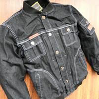 malla de montar chaquetas de moto al por mayor-Chaqueta de mezclilla original chaqueta de malla de motocicleta / chaqueta de autorcycle / jakcet al aire libre / tener almohadillas chaqueta / ropa de montar tienen protección